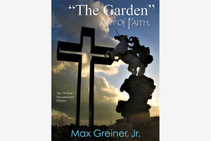 "Book ""The Garden"" ART OF FAITH  (Soft Cover, Large Format, Color Photographs)"