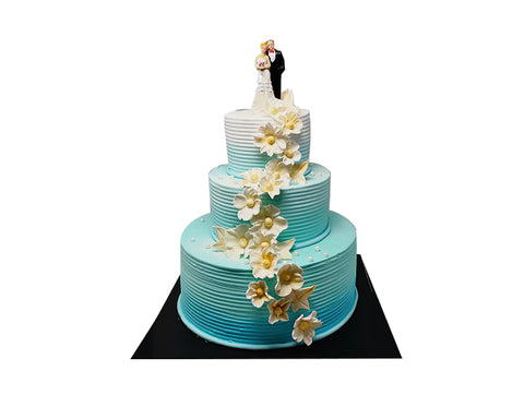Wedding Cake - Blue