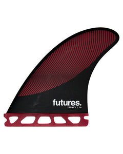 Futures P6 Pivot Legacy Fins - HC Thruster - Medium