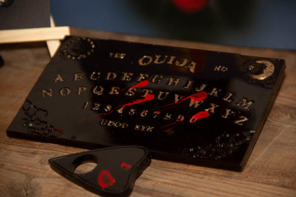 Gift yourself a handmade travel size Ouija and Planchette