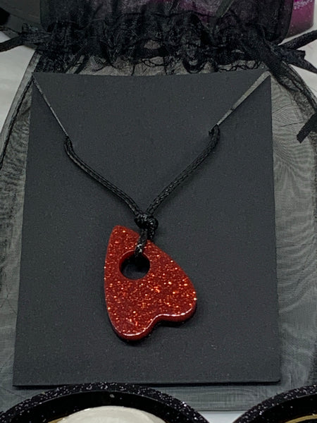 Vampire Red Planchette Necklace