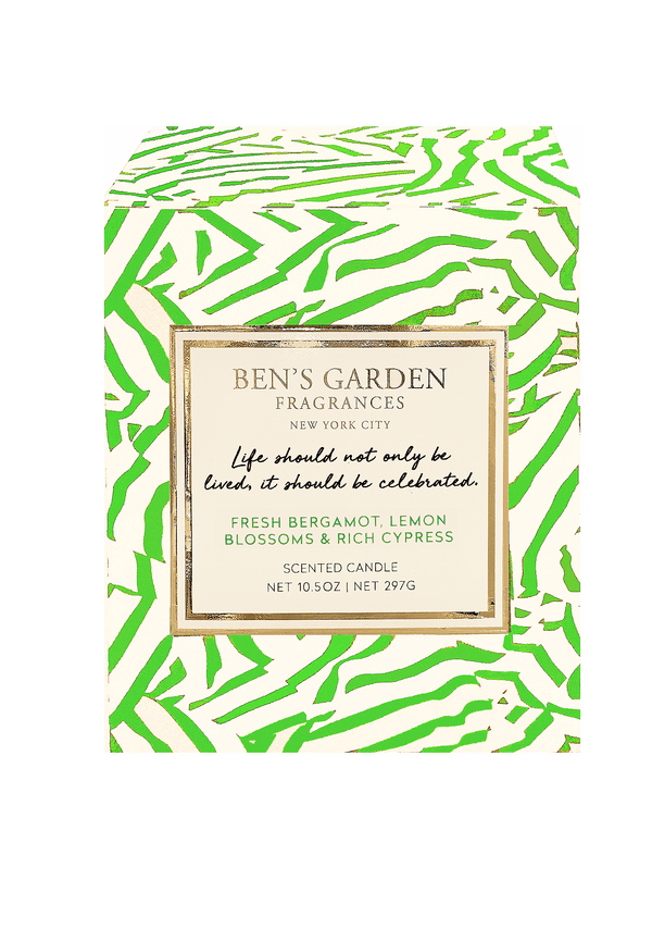 Bensgarden.com | Life Should Not Only Be Lived, Artisan Scented Candle - Bensgarden.com