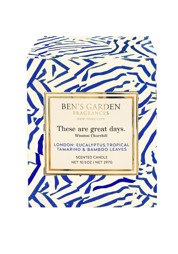 Bensgarden.com | These Are Great Days, Artisan Scented 10.5 oz. Signature Candle Candle - Bensgarden.com