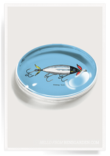 Bensgarden.com | Fishing Lure Crystal Oval Paperweight - Bensgarden.com