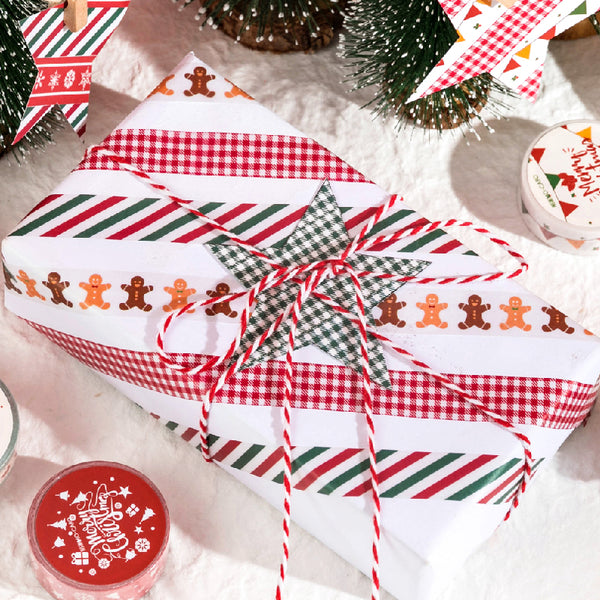 Colorful Christmas Collection Paper Tape