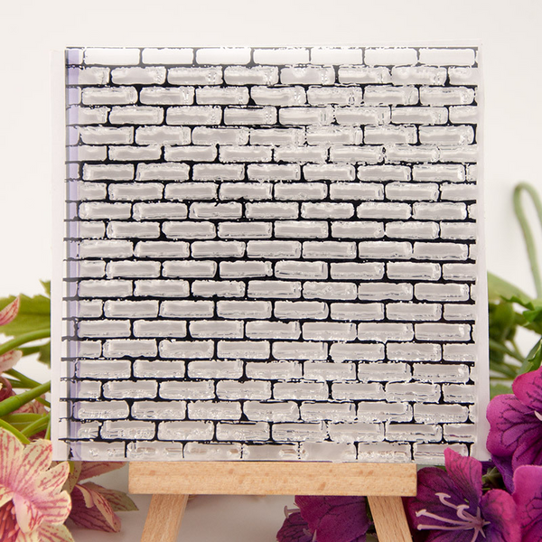 Square Wall Background Stamp