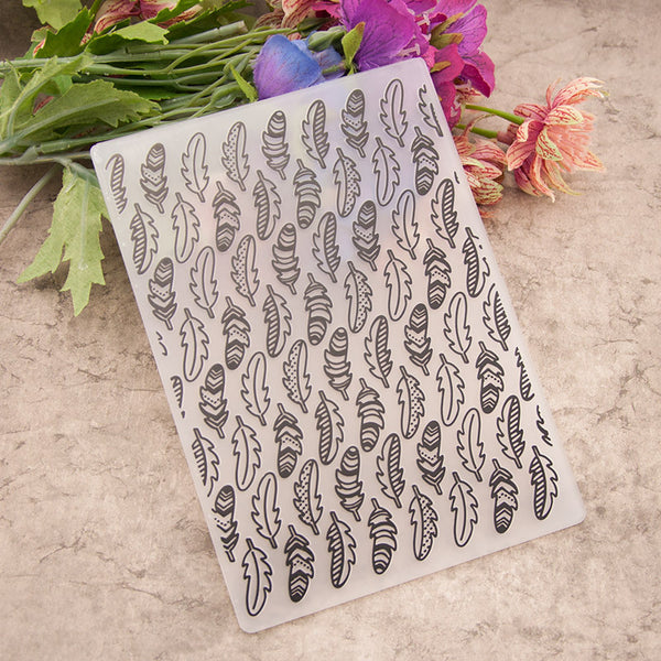 Feather EMBOSSING FOLDER