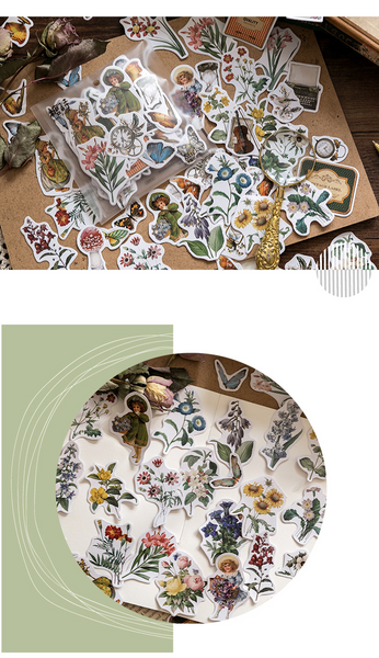 200PCS Coated Paper Stickers