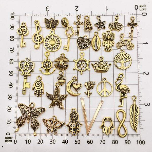 100PCS DIY Alloy Accessories