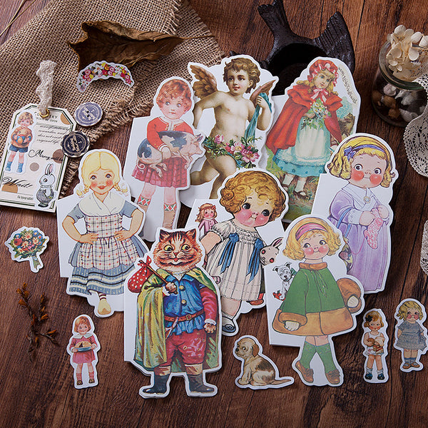 40pcs Fairy Tale House Series Stickers