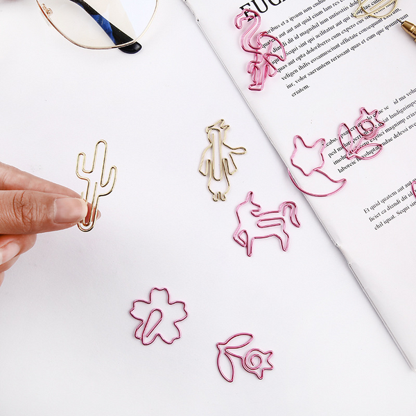 Creative Animal Plants Paper Clip