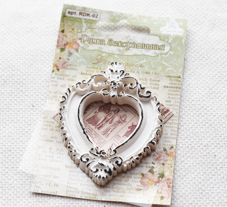 Antique Resin Photo Frame Scrapbook Decoration