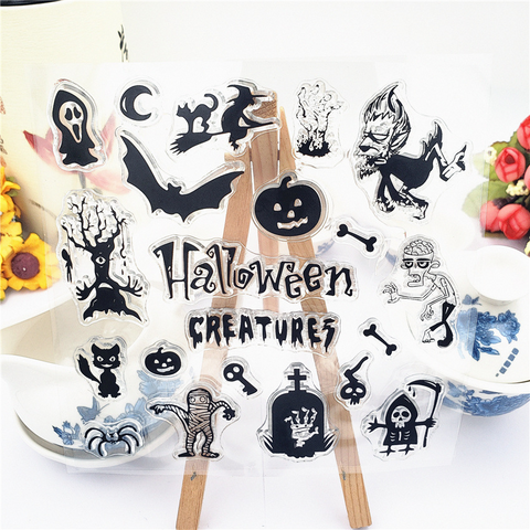 Halloween Creatures Stamps