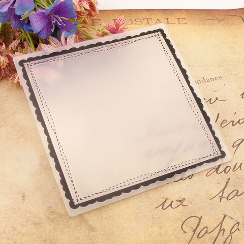 Square Frame EMBOSSING FOLDER