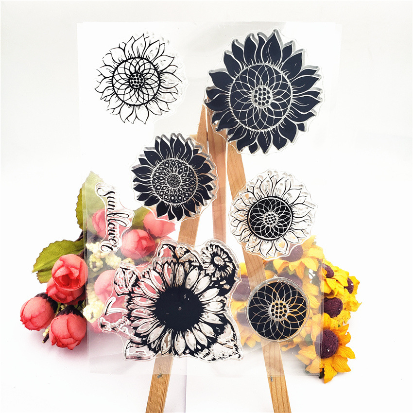 Sunflower Combination Stamps