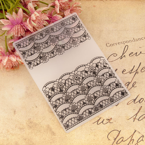 Lace Border EMBOSSING FOLDER