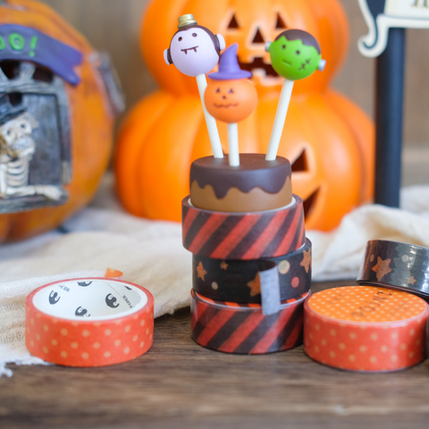 Halloween Pumpkin Ghost Paper Tape