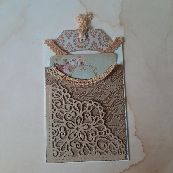 【Original】Lace Corner Border Dies
