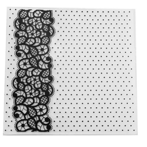 Vine Dot EMBOSSING FOLDER