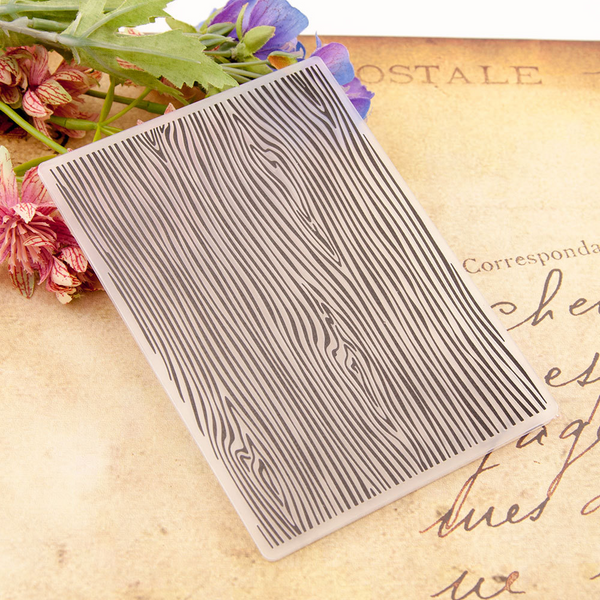 Wood Grain Embossing Folder