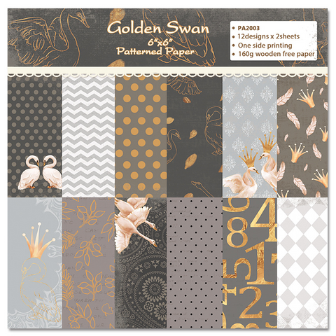 6 INCH SCRAPBOOK BACKGROUND PAPER