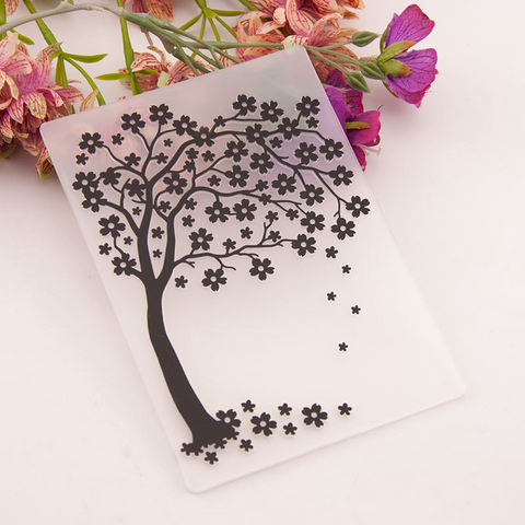 Flower Tree EMBOSSING FOLDER