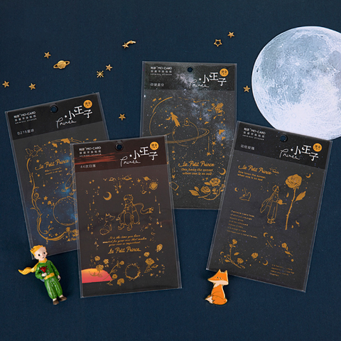The Little Prince Series PET Hot Stamping Stickers