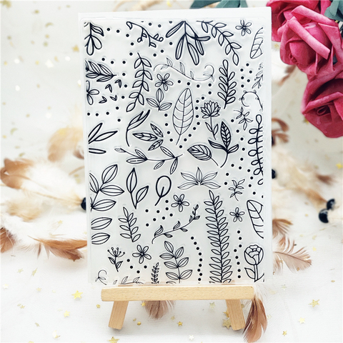 Floral backgrounds Stamps
