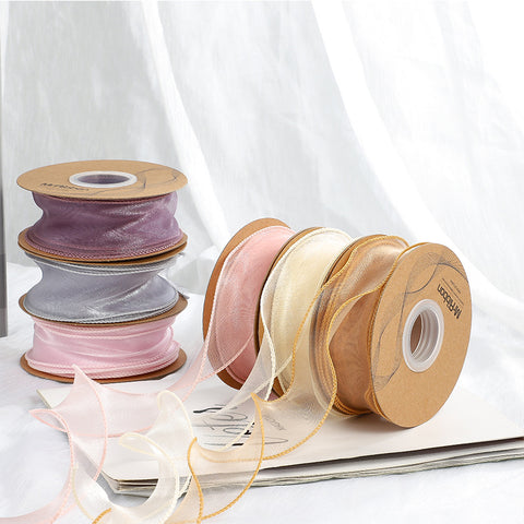 4CM Wave Silk Organza Ribbon