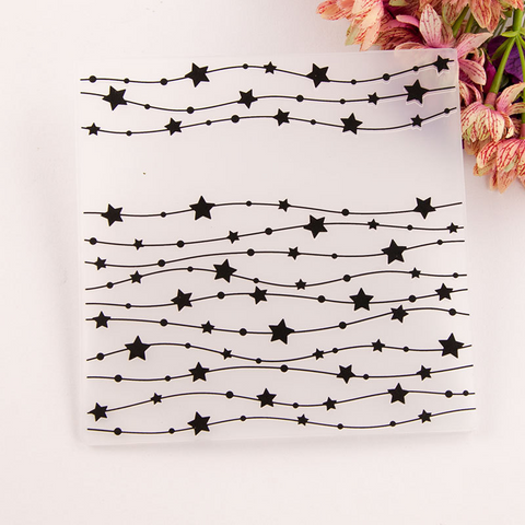Star String EMBOSSING PLATES