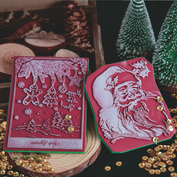Christmas Series Sponge Stamps