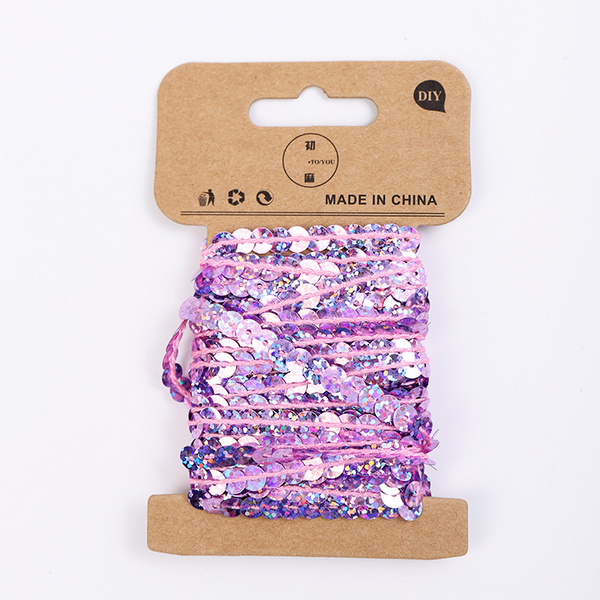 Sequin Strip Webbing