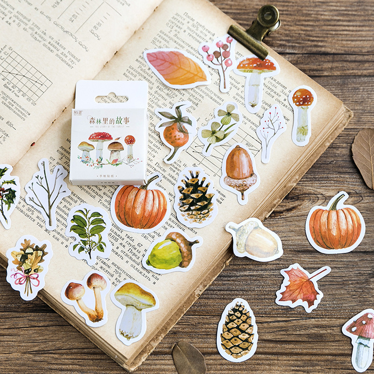 46PCS Forest Tales Decorative Stickers