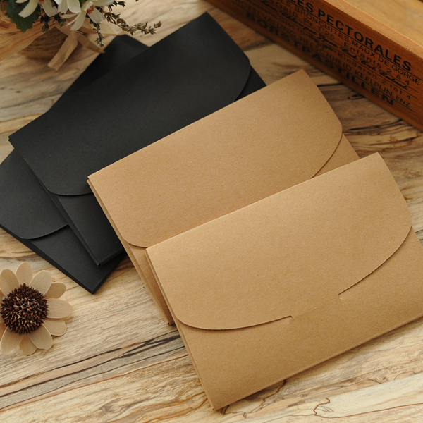 Vintage Kraft Envelopes Blank Boxes
