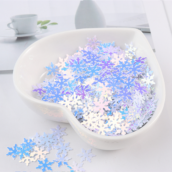 500Pcs Snowflake Sequins