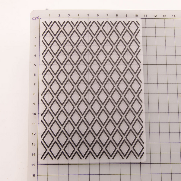 Rhombic EMBOSSING FOLDER