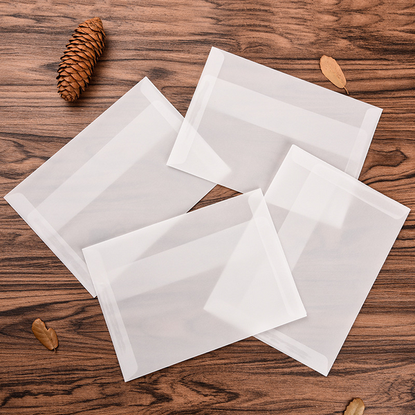 5PCS Blank Sulfuric Acid Paper Envelopes