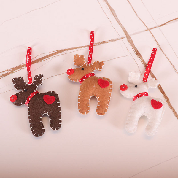 Christmas Tree Decoration Felt Pendants