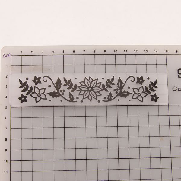 Flower Leaves EMBOSSING FOLDER