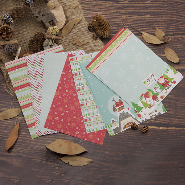 14PC 15*20CM Scrapbooking Paper Pack-Christmas