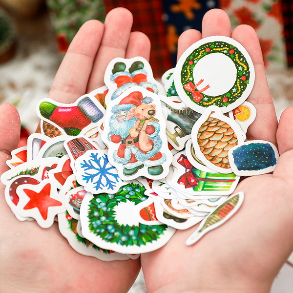 Spend Christmas with You Series Stickers Set