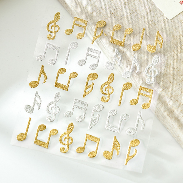 Musical Note Stickers