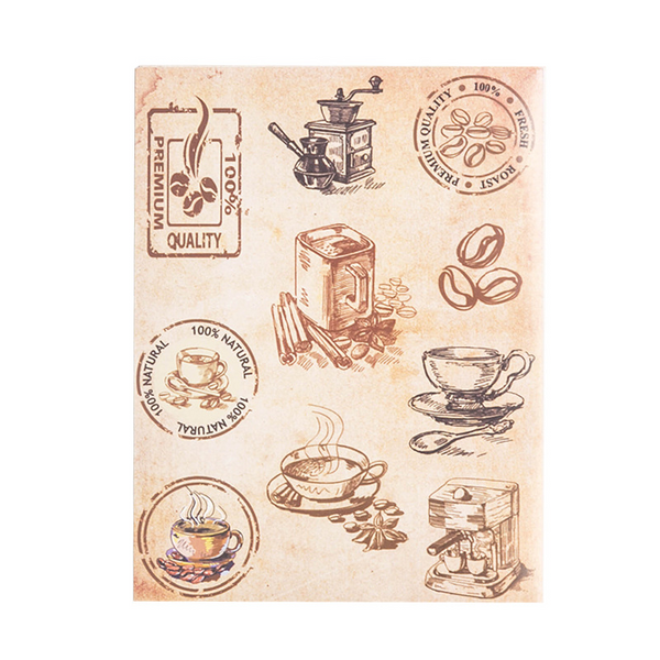 Antique Art & Elegance Poster Character Stickers