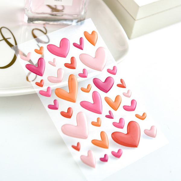 Simulated Enamel Decorative Stickers
