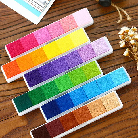 6 Pcs/Lot Gradient Color Inks