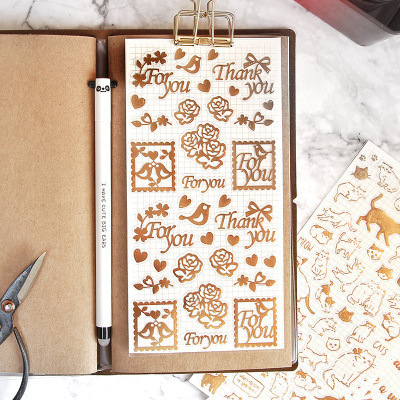 Creative Hot Stamping Stickers