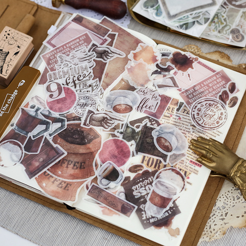 64PCS Cute Journal Stickers