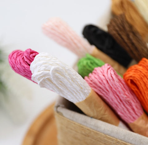 12 Colors Paper  Rope
