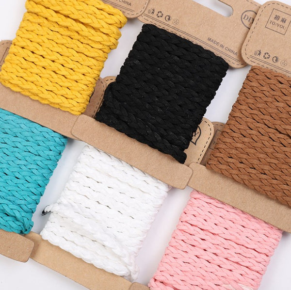 Color Braided Leather Rope