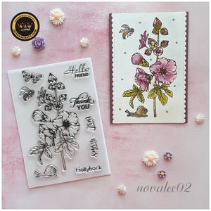 Hollyhock Stamps